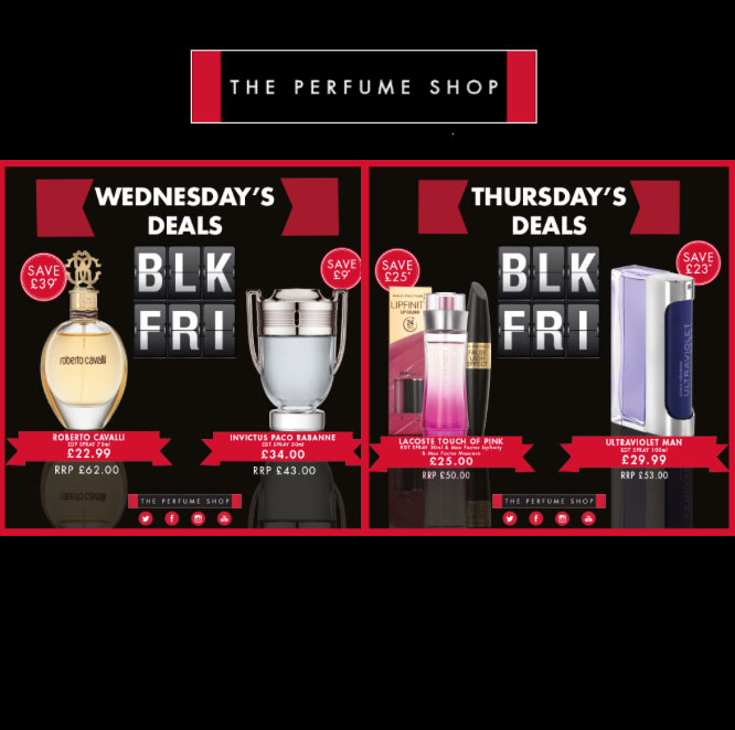 Black Friday The Perfume Shop
