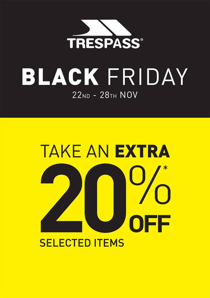 Black Friday Trespass
