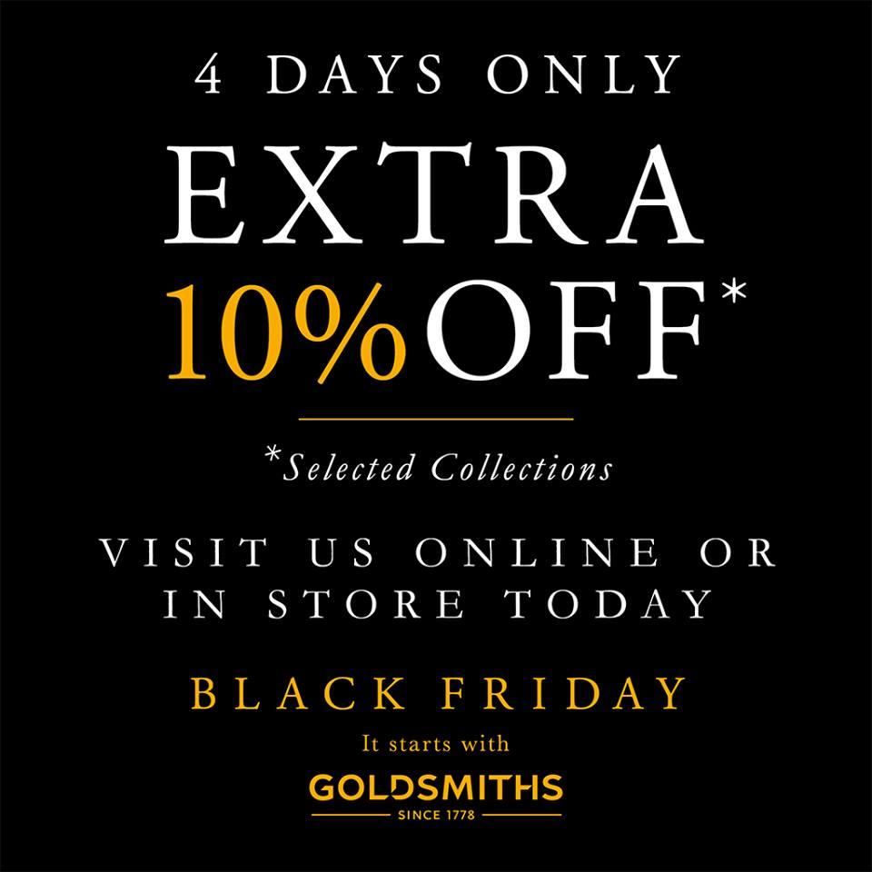 Goldsmith's Black Friday
