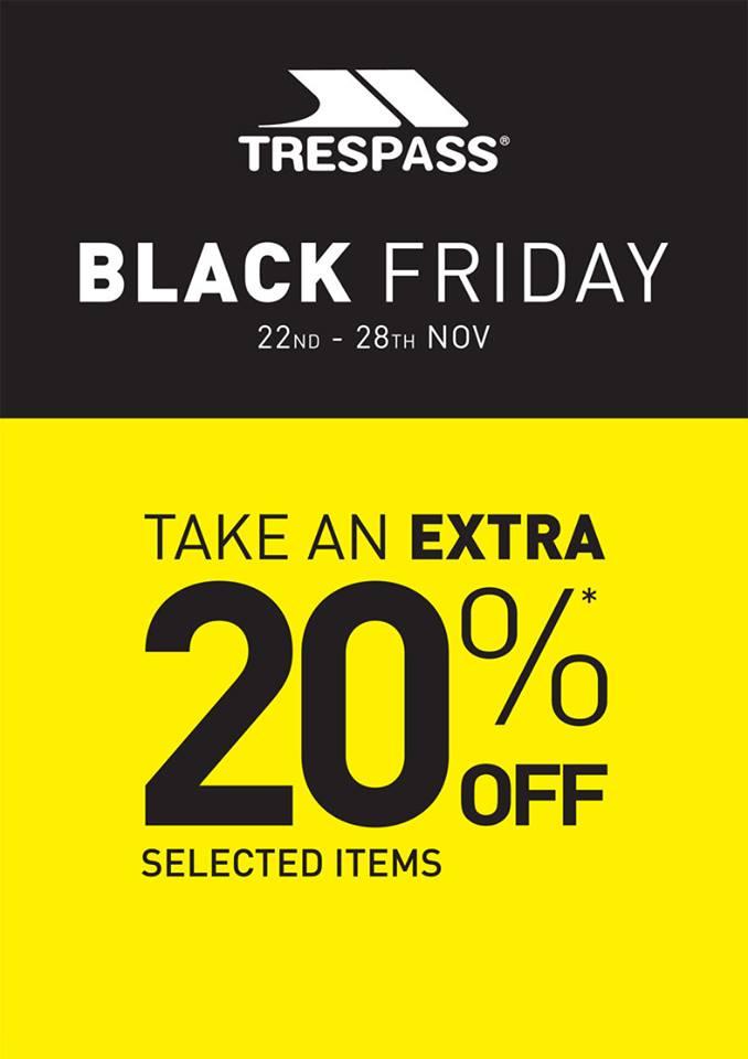 Black Friday Trespass