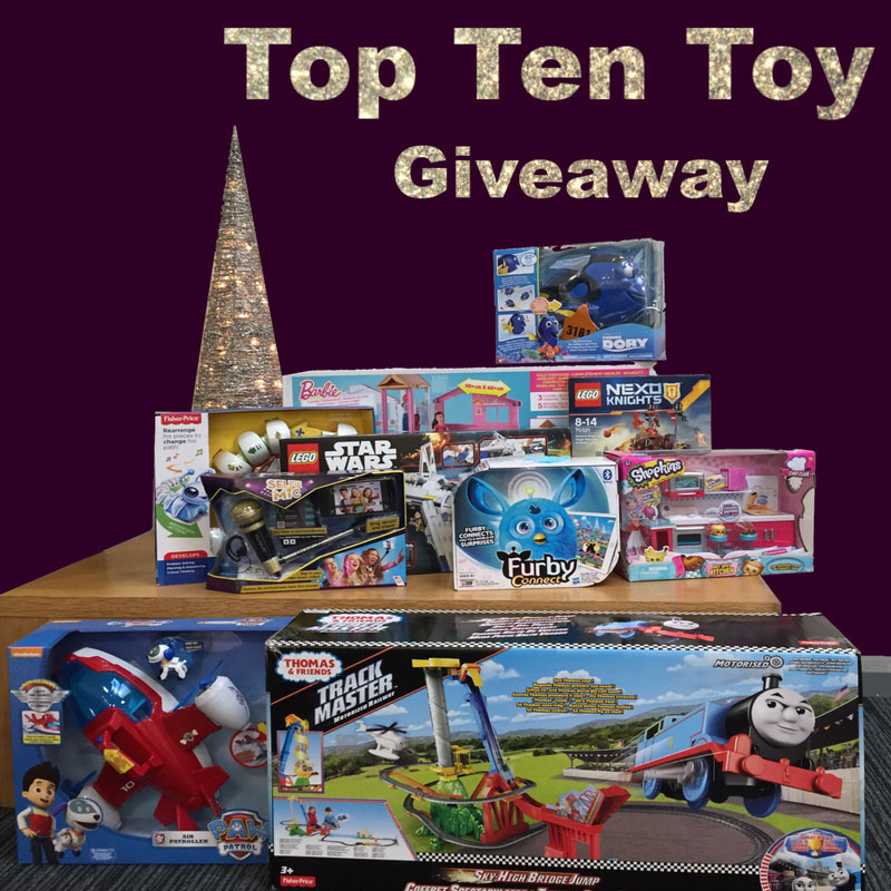 Top 10 Toy Giveaway