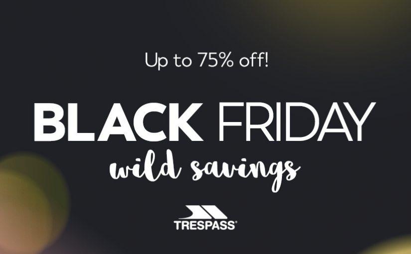 Trespass Black Friday Wild Savings!