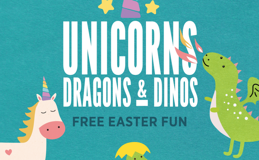Unicorns, Dragons & Dinos