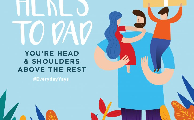 Here's to Dad This Father's Day