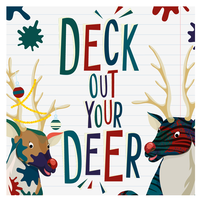 Deck Out Your Deer at Bloomfield Shopping Centre